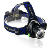 Newest Brand LED Headlight CREE T6/L2 led headlamp zoom 18650 Head lights head lamp XML T6 zoomable flashlight