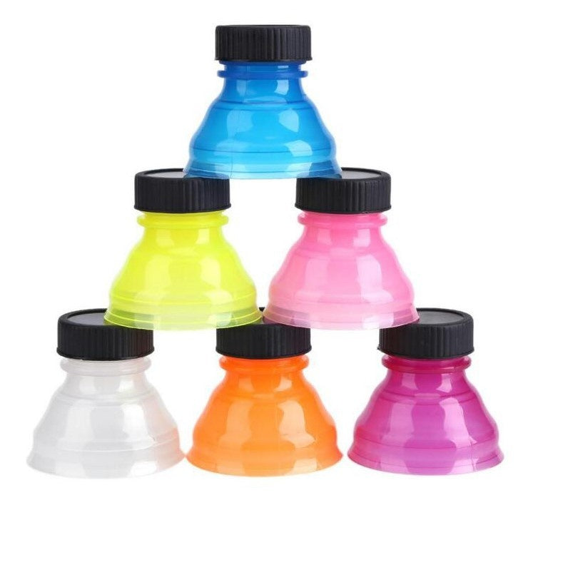 3PCS/SET High QualityCreative Can Convert Soda Savers Toppers Reusable Bottle Cap Drink Lids Opener Resealable Tops