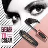 Super Long Lasting!!! 4D Waterproof Silk Fiber Eyelash Extension Not blooming Black Thick Eye Lashes Mascara Long Eyelashes