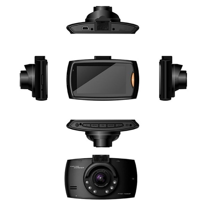 2.2 Inch Car DVR Camera Auto Video Recorder Full HD 1080P Dash Cam With Night Vision G-Sensor 1080P/720P/480P/270P Car Video Camcorder Recorder Auto DVR Front Camera