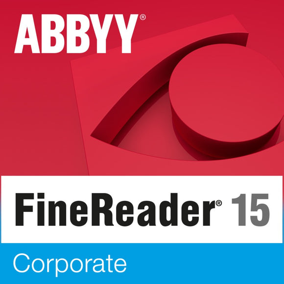 ABBYY FineReader - Campus license