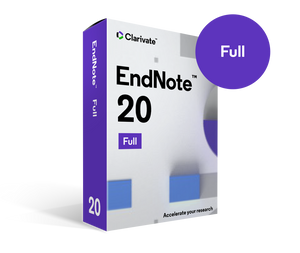 EndNote - New license