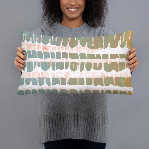 """Ribs One"" Basic Pillow"