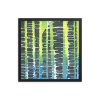 """Ribs Two"" (Trees) Framed Print"