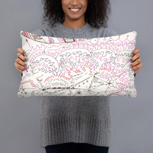 """Indigo"" Pillow"