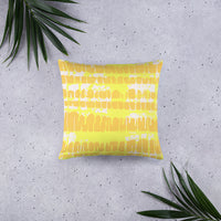 """Tangerine"" Pillow"