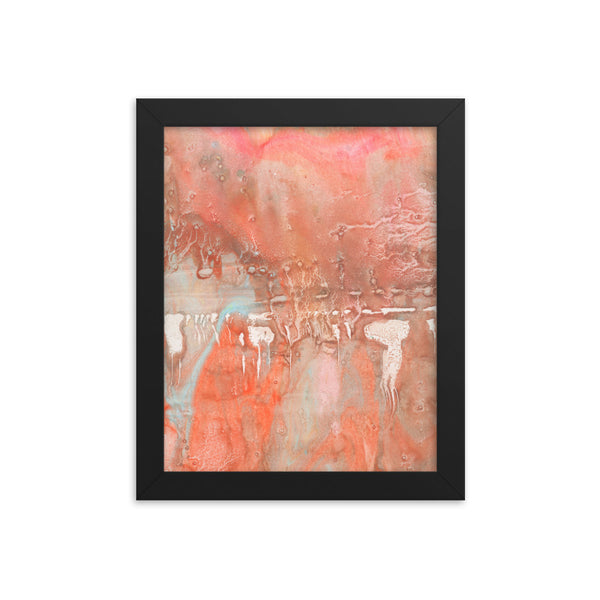 """Autumnal Foliage"" Framed Print"