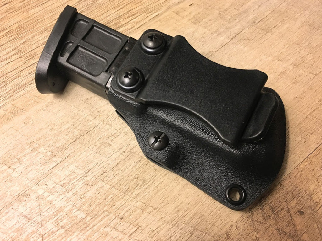 Universal Double Stack 9mm 40cal and 357 SIG IWB Magazine Carrier