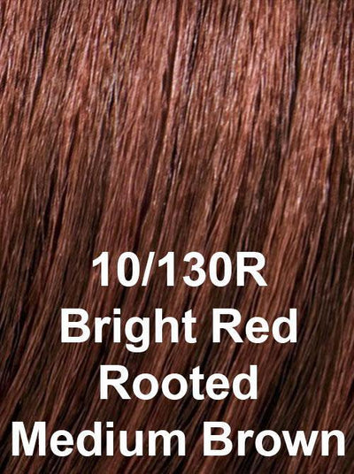 10/130R | Bright Red Rooted Medium Brown