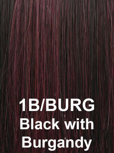 1B/BURG | Black with Burgandy