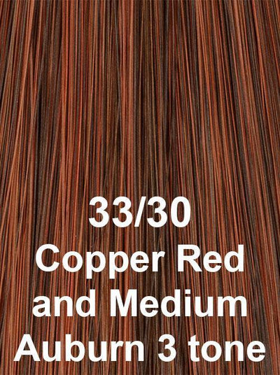33/30 | Copper Red & Medium  Auburn  3 tone