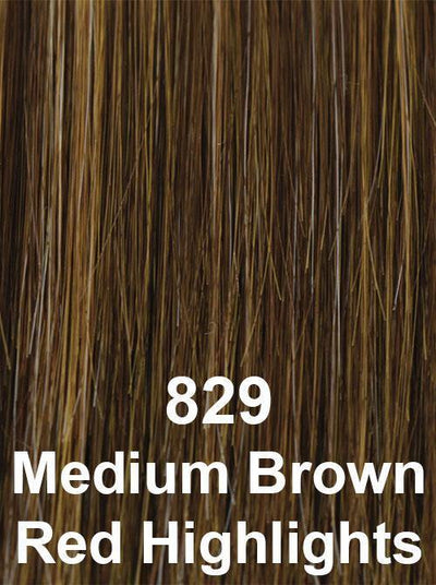 829 | Medium Brown Red Highlights