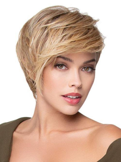 Angled Pixie Synthetic Hair Wigs