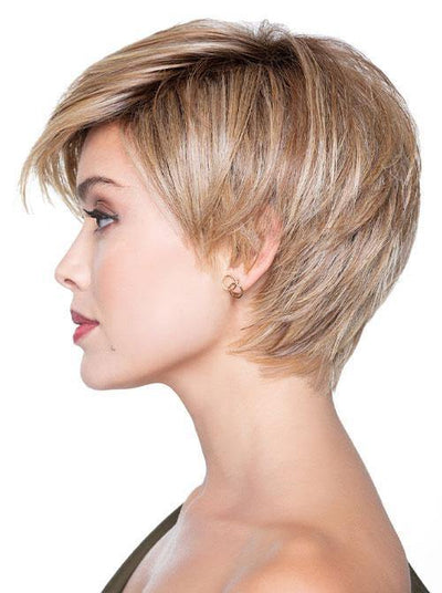 Angled Pixie Wigs for White Women