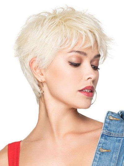 Brushed Pixie Wigs for Women