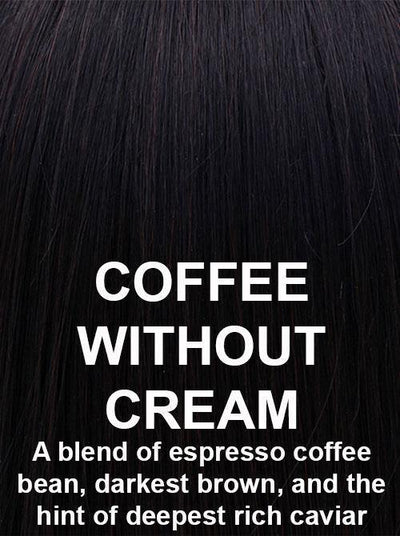 COFFEE WITHOUT CREAM | A blend of espresso coffee bean, darkest brown, and the hint of deepest rich caviar