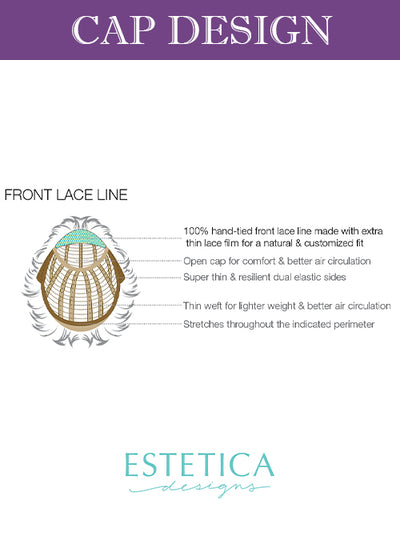 Jett | Lace Front Synthetic Wig by Estetica