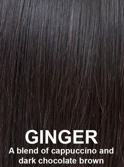 GINGER | A blend of cappuccino and dark chocolate brown