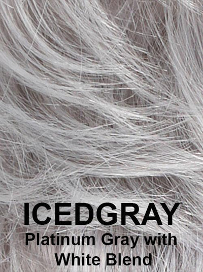 ICED GRAY | Platinum Gray with White Blend