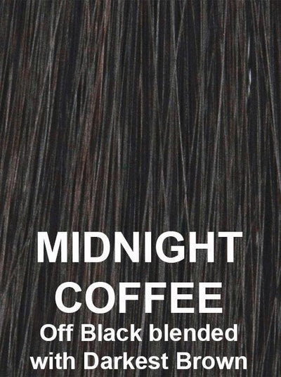 MIDNIGHT COFFEE | Off Black blended with Darkest Brown