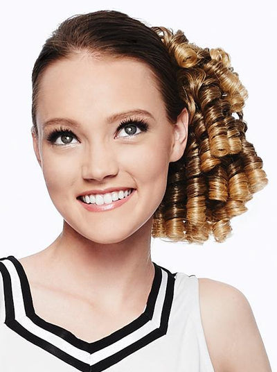 Cheer Dance Curls Hair Pieces for Women