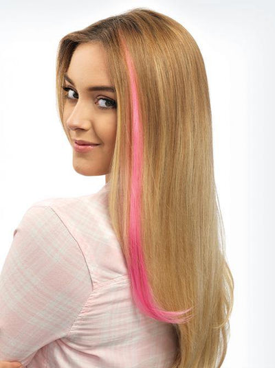 Color Strip Extension Heat-Friendly Hair