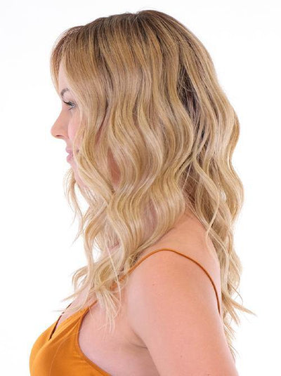 Premium 100% Handmade Topper 18 Wave Toppers Synthetic Wiglets