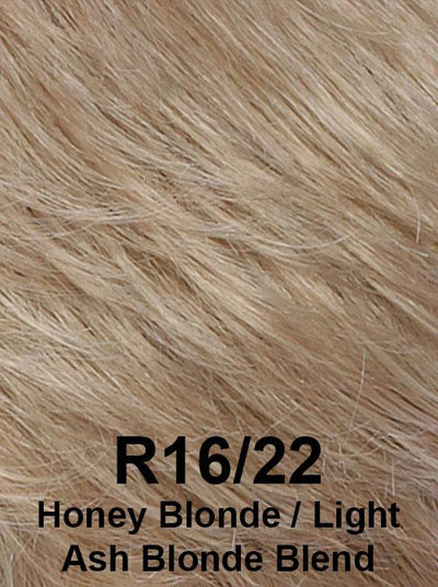 R16/22 | Honey Blonde / Light Ash Blonde Blend
