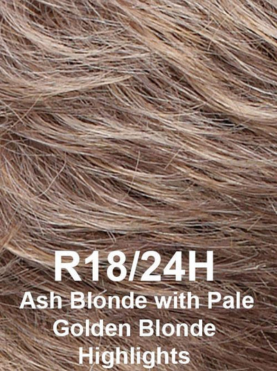 R18/24H | Ash Blonde with Pale Golden Blonde Highlights