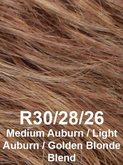 R30/28/26 | Medium Auburn / Light Auburn / Golden Blonde Blend