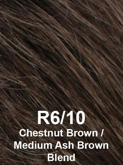R6/10 | Chestnut Brown / Medium Ash Brown Blend