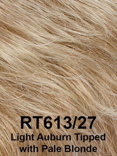 RT613/27 | Light Auburn Tipped with Pale Blonde