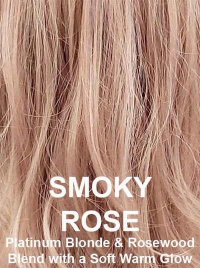 SMOKYROSE | Platinum Blonde & Rosewood Blend with a Soft Warm Glow