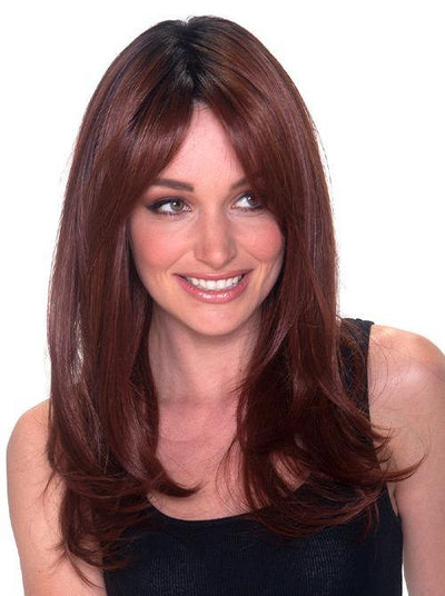Tea Leaf Layer Hand-Tied synthetic wig