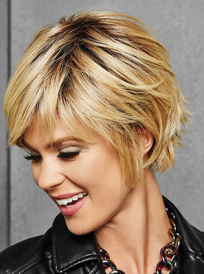 Textured Fringe Bob | Synthetic Wig by Hairdo