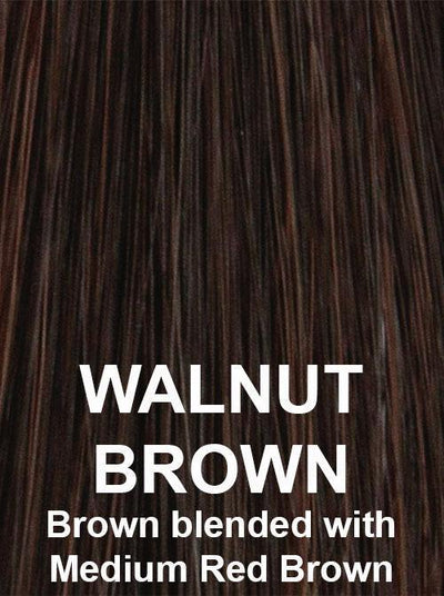 WALNUT BROWN | Brown blended with Medium Red Brown