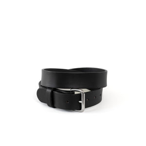 Black Steel Harness Belt