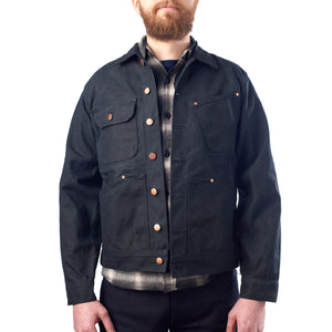 Black Waxed Canvas Jacket