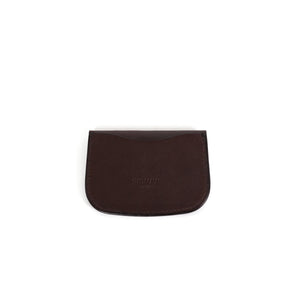 Brown Snap Card Wallet