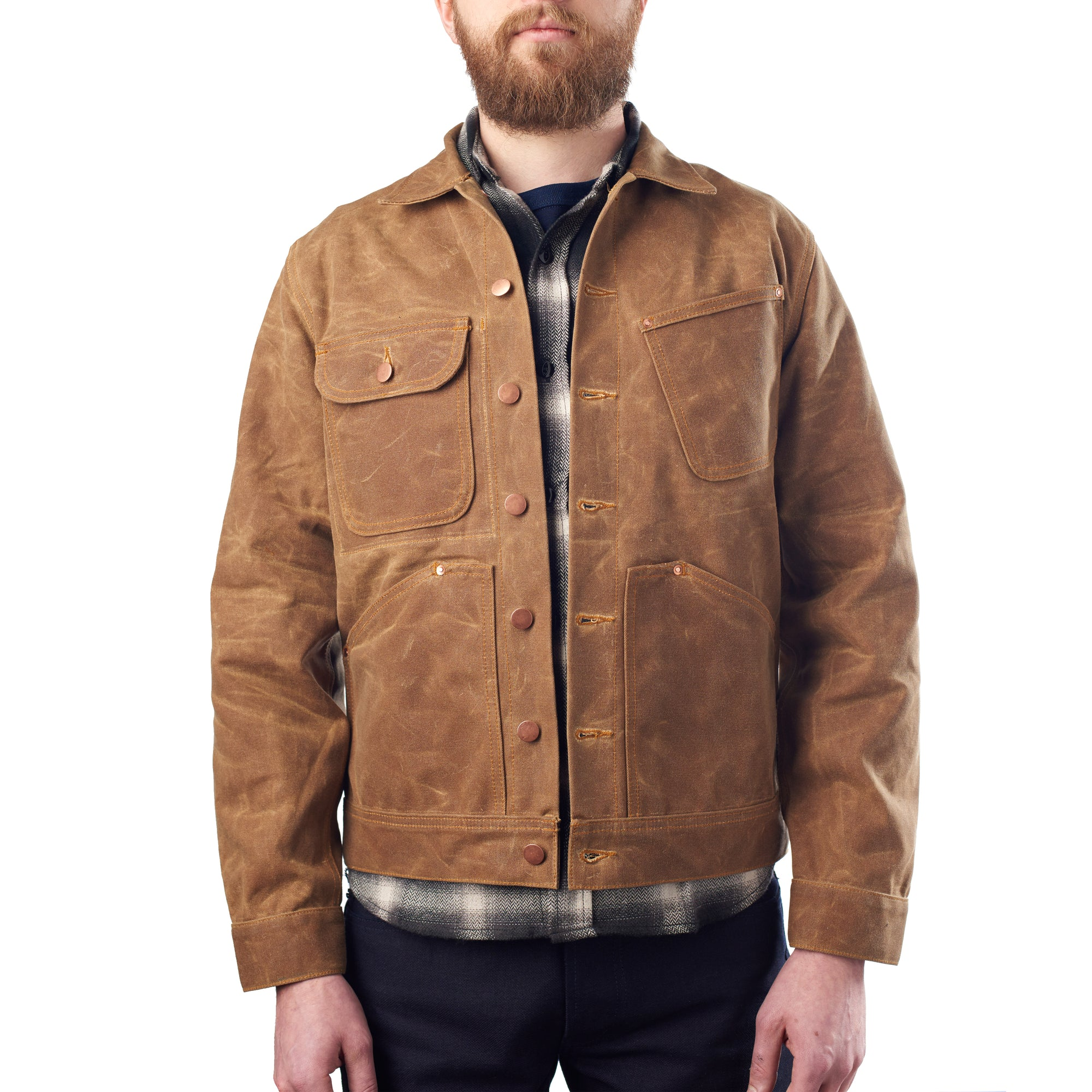 Brown Waxed Canvas Jacket