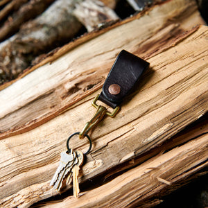 Natural Brass Key Clip