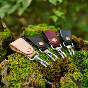 Natural Steel Key Clip