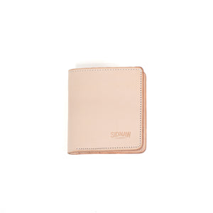 Natural Bifold Wallet