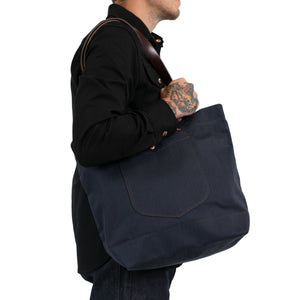 Navy Ironwood Tote