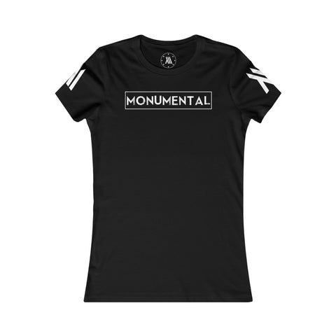 Monumental Fitted Tee (Women's)