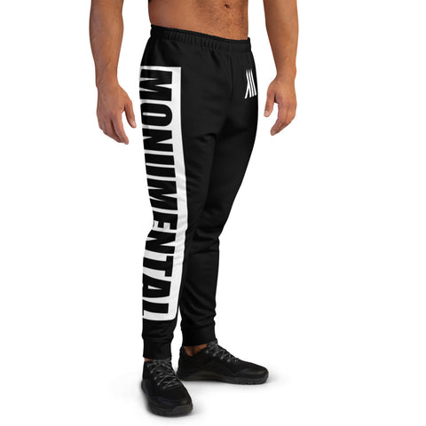 Black Monumental Joggers (Bold) (Men's)