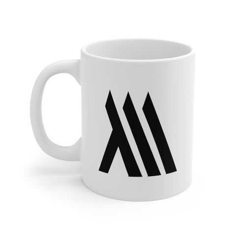 White Monumental Mug (11oz)