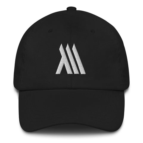 Monumental Dad Hat (White Logo)