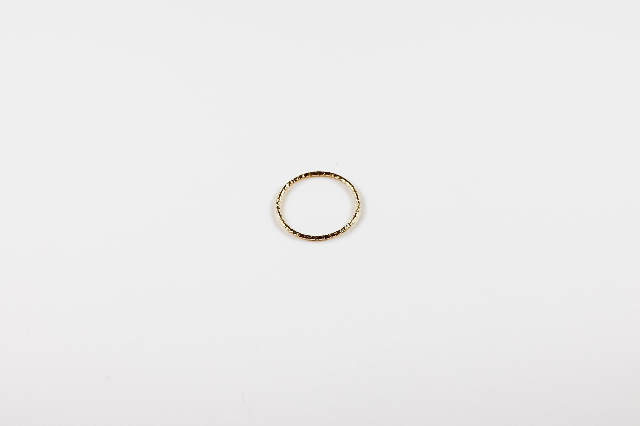 Sparkling Wire Stackable Ring (Multiple Sizes)