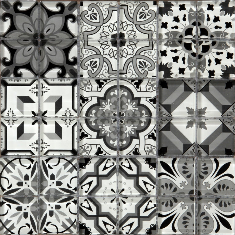Geo Moroccan Black & White